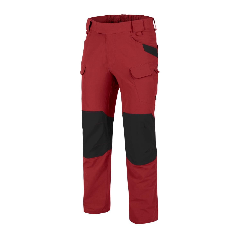 Kalhoty OUTDOOR TACTICAL® softshell ÈERVENÉ/ÈERNÉ - zvìtšit obrázek