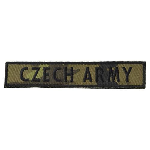 Nášivka CZECH ARMY - vz.95 les CZ VELCRO - zvìtšit obrázek