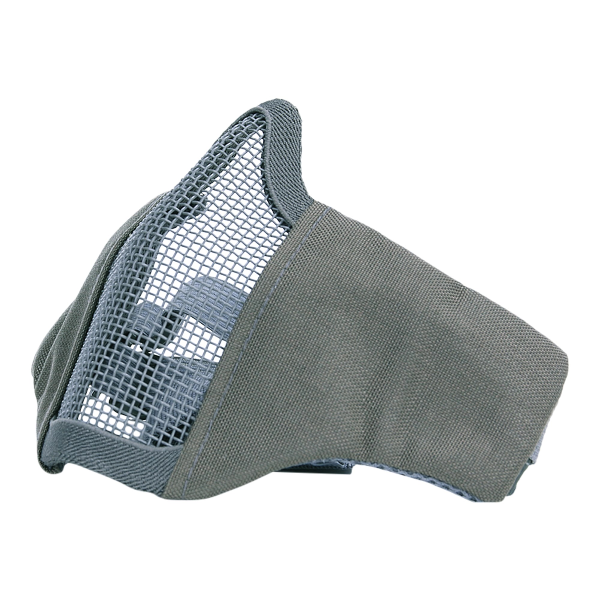 Maska AIRSOFT polstrovaná s møížkou ŠEDÁ - zvìtšit obrázek