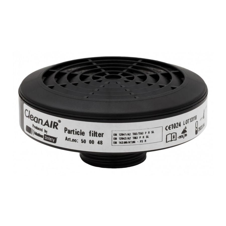 Filtr pro plynové masky CleanAir P3R závit 40x1/7 - zvìtšit obrázek