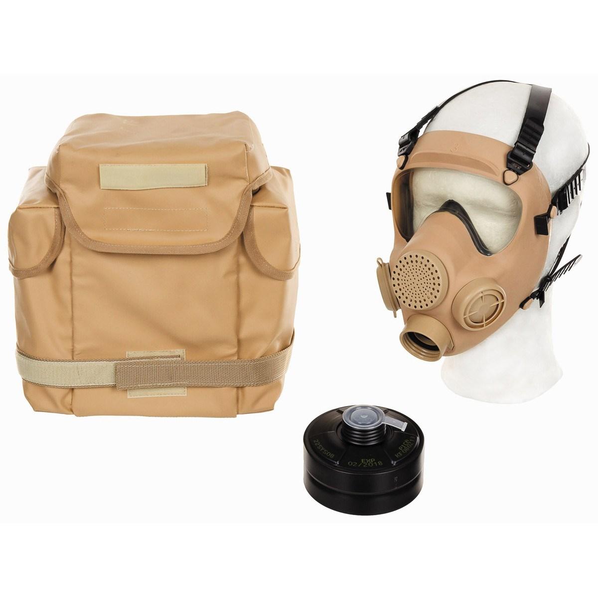 Maska polská MP5 kompletní s filtrem a brašnou DESERT - zvìtšit obrázek