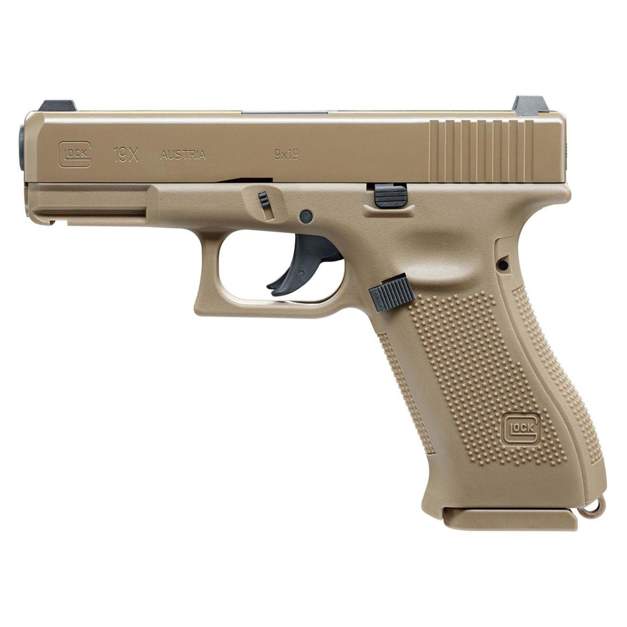 Pistole vzduchová GLOCK 19X COYOTE - zvìtšit obrázek