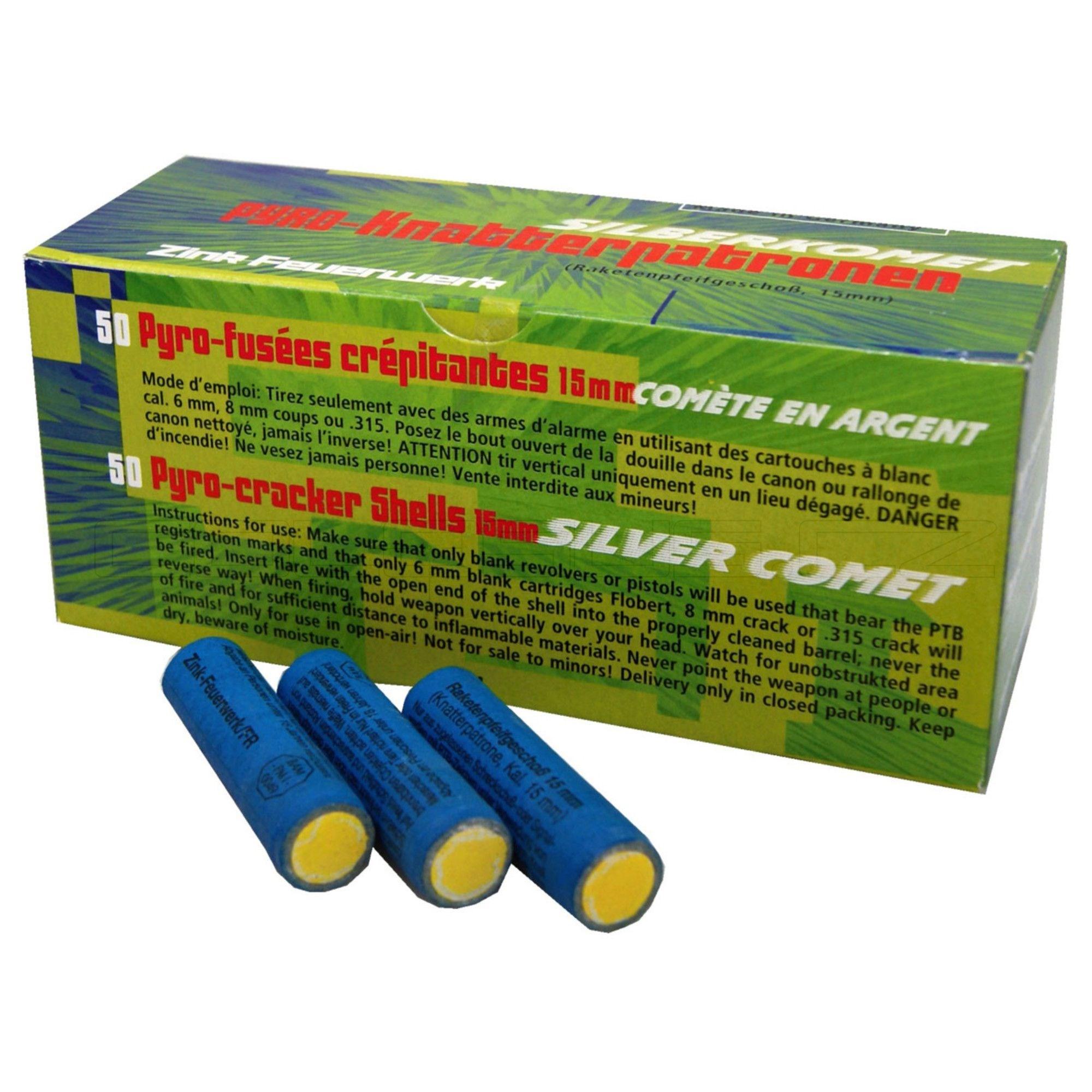 Svìtlice pro plynové pistole ZINK 15mm 50 ks - zvìtšit obrázek