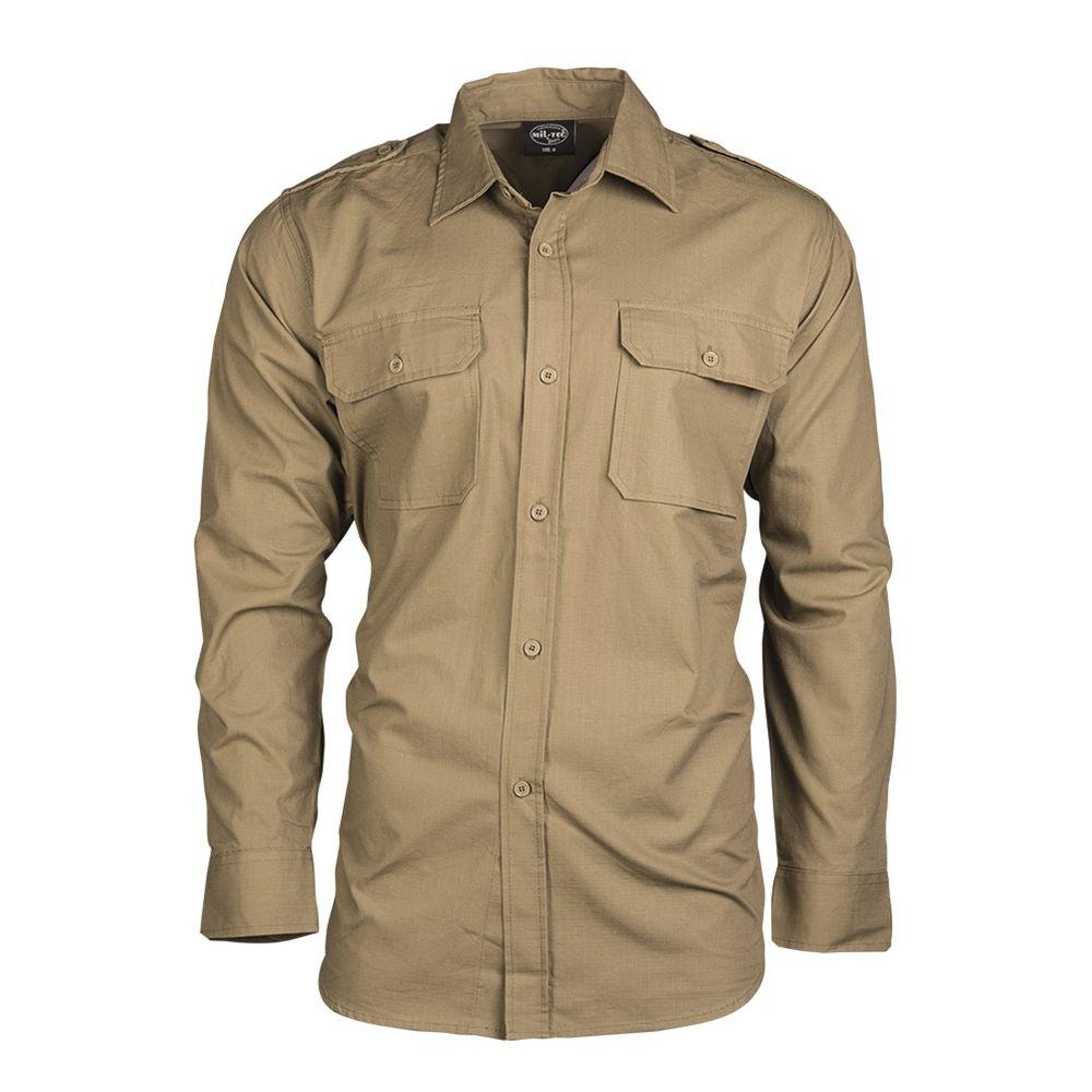 Košile polní na knoflíky rip-stop COYOTE - zvìtšit obrázek