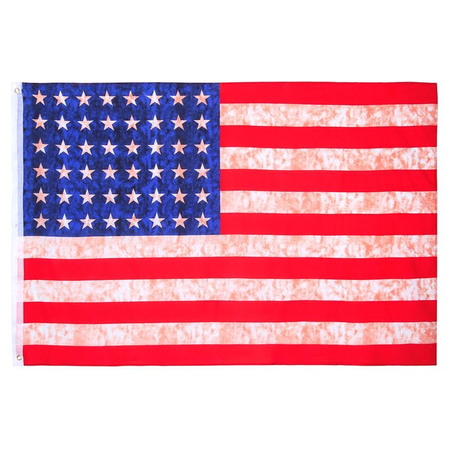 Vlajka USA vintage 48 hvìzd 155 x 105 cm - zvìtšit obrázek