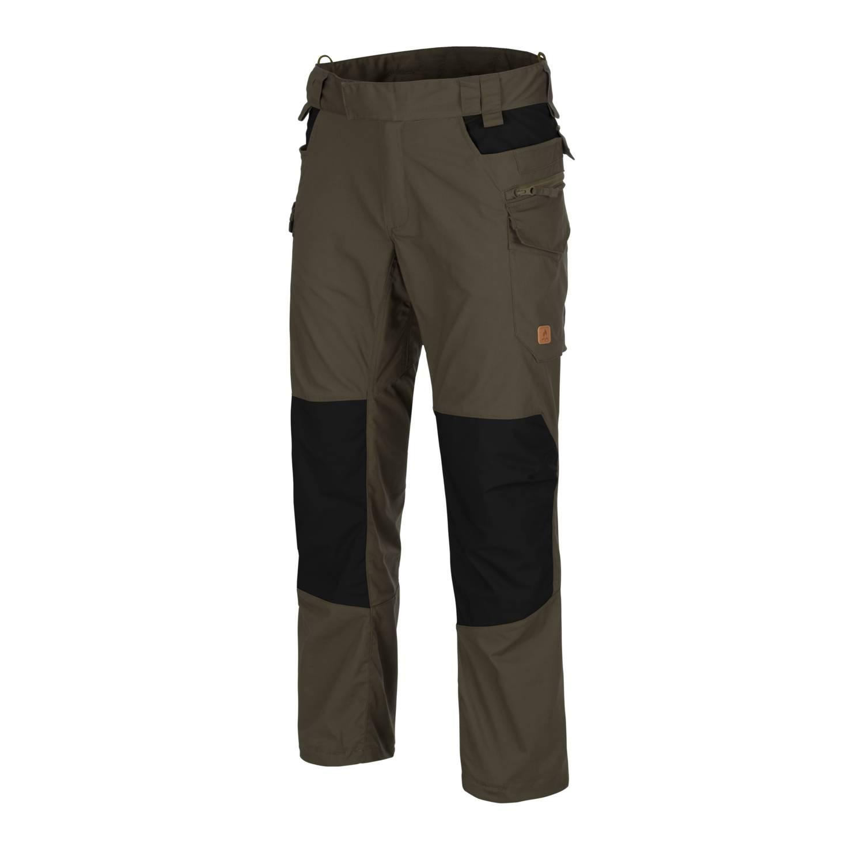 Kalhoty PILGRIM TAIGA GREEN/ÈERNÉ - zvìtšit obrázek