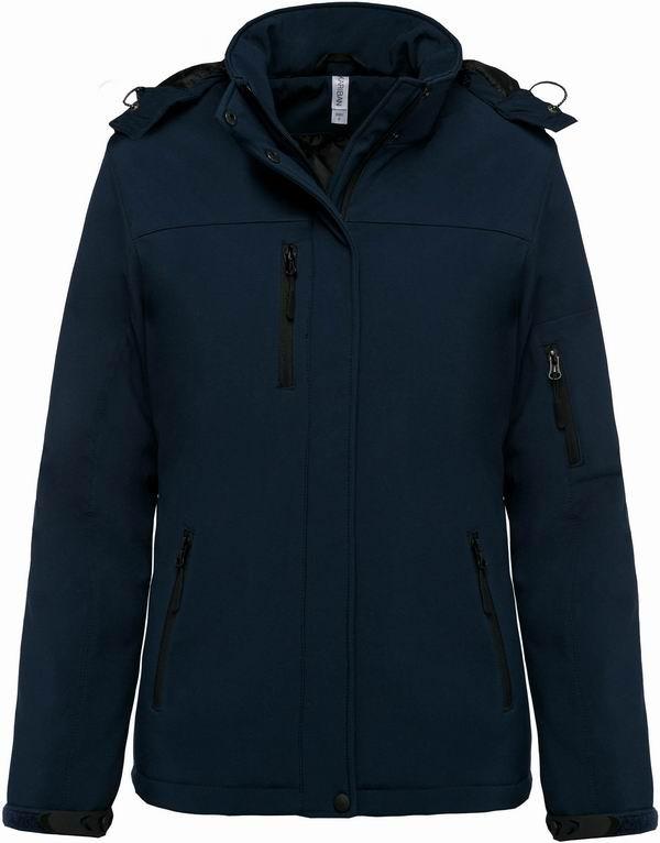 Dámská softshellová bunda Lined Hooded Parka - Navy Modrá - zvìtšit obrázek
