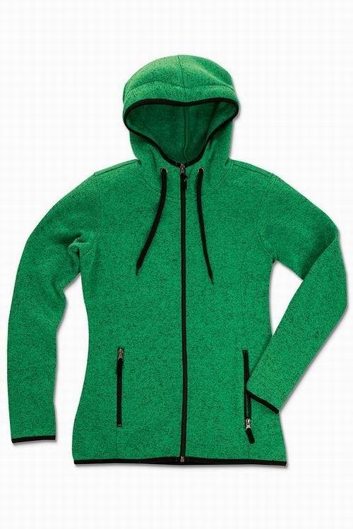 Dámská mikina Active Knit Fleece - Zelená - zvìtšit obrázek
