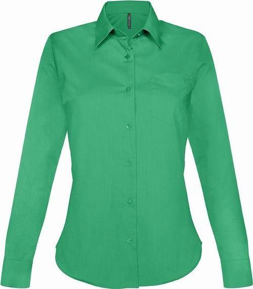 Dámská košile dlouhý rukáv JESSICA - Zelená - zvìtšit obrázek