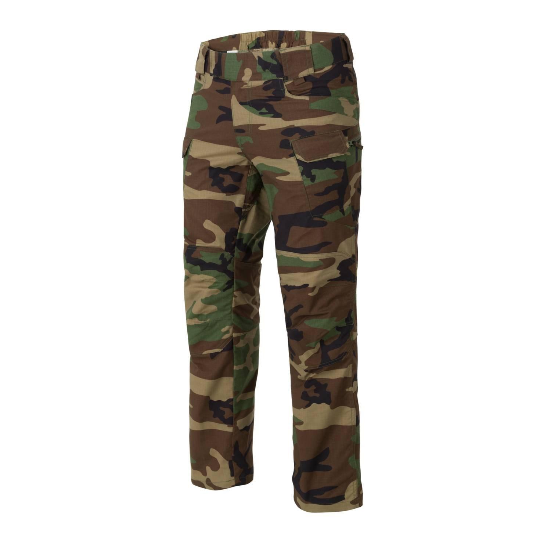 Kalhoty URBAN TACTICAL rip-stop WOODLAND - zvìtšit obrázek