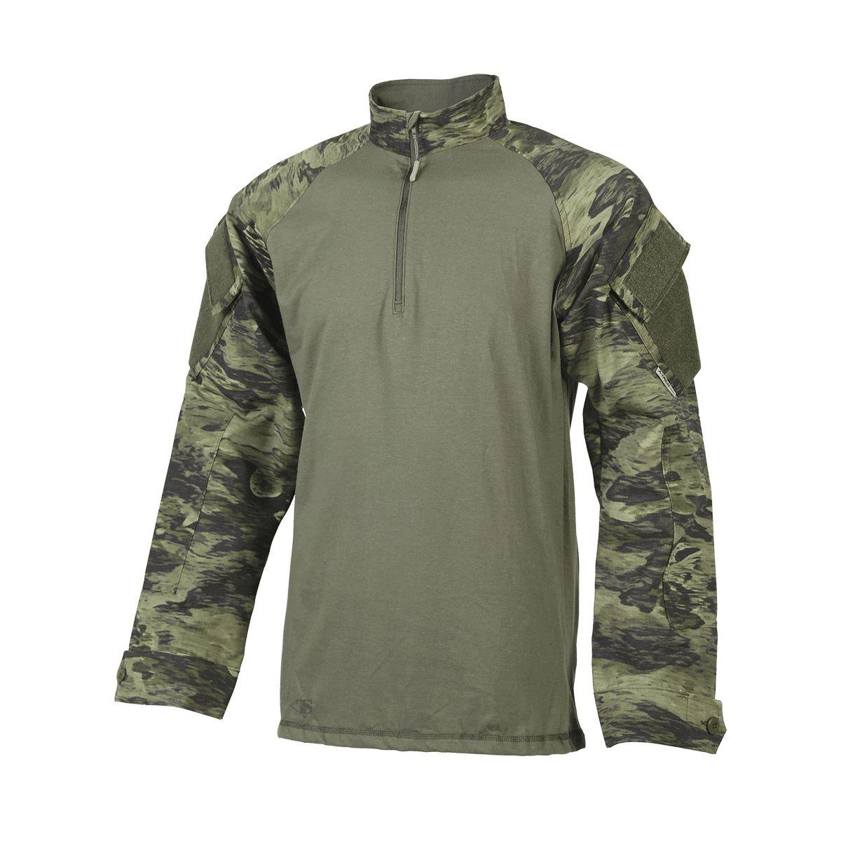 Košile taktická BDU Xtreme 1/4 zip A-TACS FG-X - zvìtšit obrázek