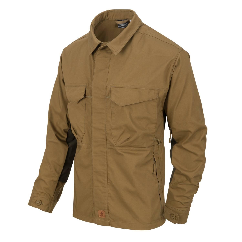 Košile WOODSMAN COYOTE/TAIGA GREEN - zvìtšit obrázek