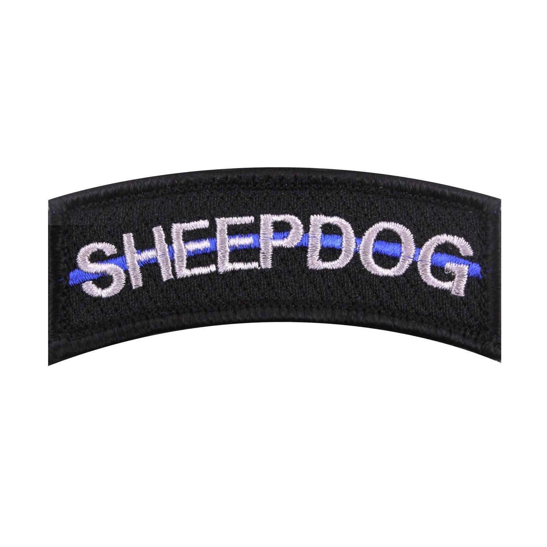 Nášivka SHEEP DOG modrá linka VELCRO - zvìtšit obrázek