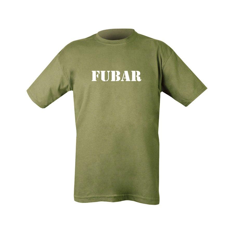 Triko FUBAR s potiskem ZELENÉ - zvìtšit obrázek