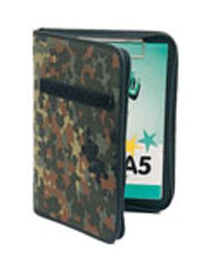 MIL-TEC Desky BW A5 na dokumenty FLECKTARN 25,5x19x3cm