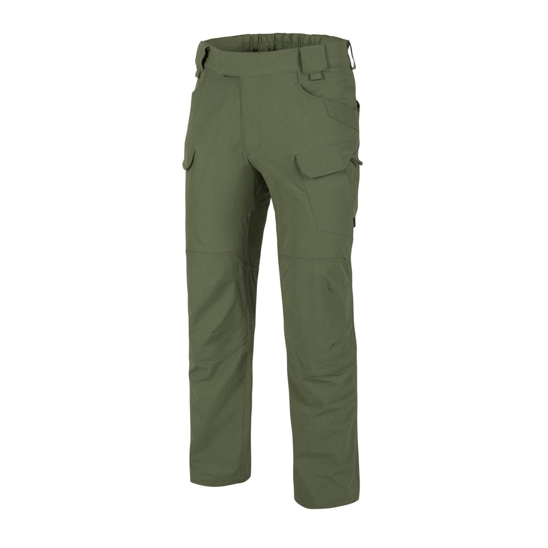 Kalhoty OUTDOOR TACTICAL® softshell OLIVE GREEN - zvìtšit obrázek