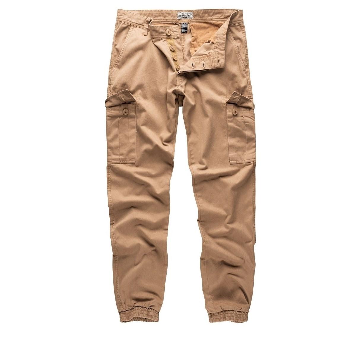 Kalhoty BAD BOYS KHAKI - zvìtšit obrázek
