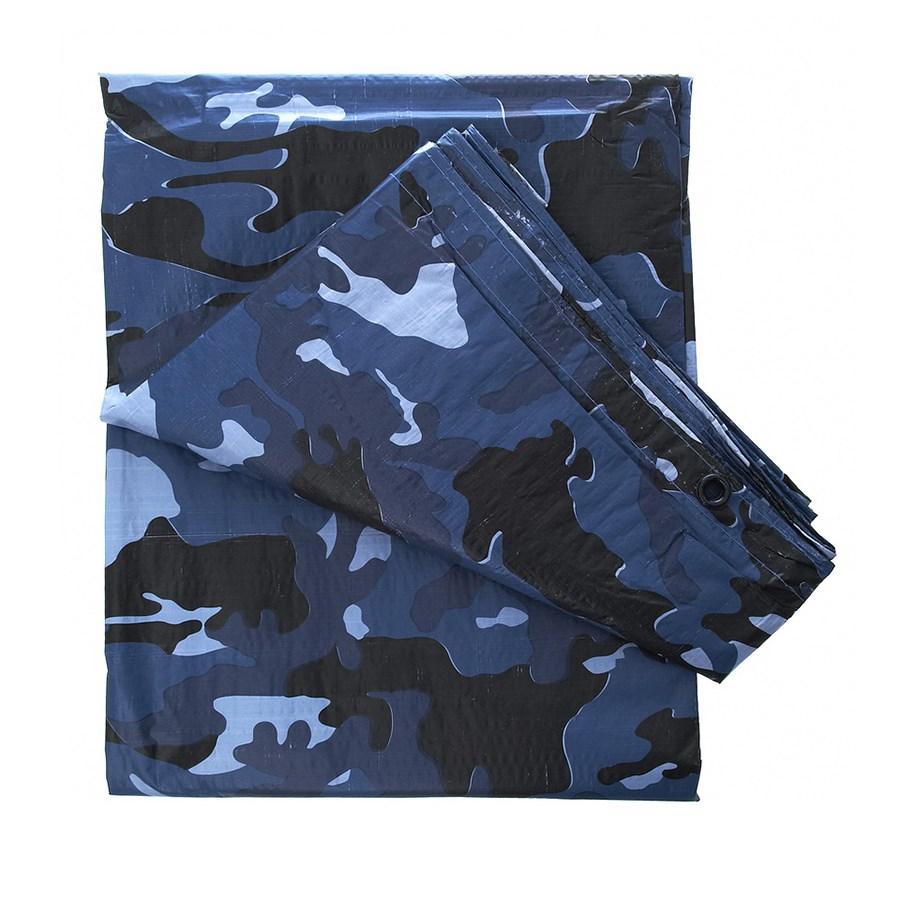 Plachta zakrývací 4x3 m SKY BLUE CAMO - zvìtšit obrázek