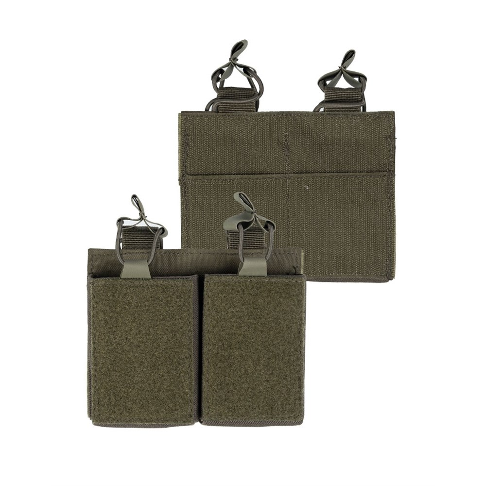 Sumka na zásobník dvojitá M4/M16/AR15 ZELENÁ - zvìtšit obrázek