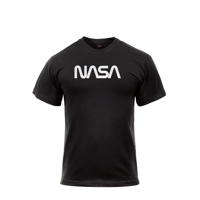 Triko s krátkým rukávem NASA ÈERNÉ - zvìtšit obrázek
