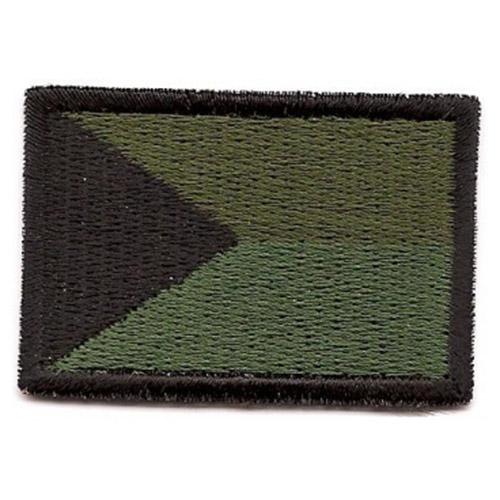 Nášivka ÈR vlajka malá ZELENÁ (40mm) VELCRO - zvìtšit obrázek