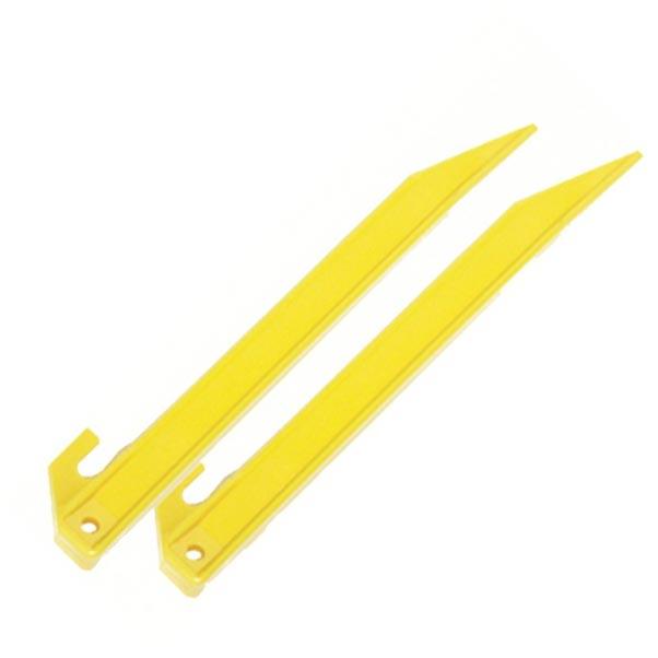 Kolík stanový PLASTOVÝ 21,5 cm 50 ks ŽLUTÝ - zvìtšit obrázek