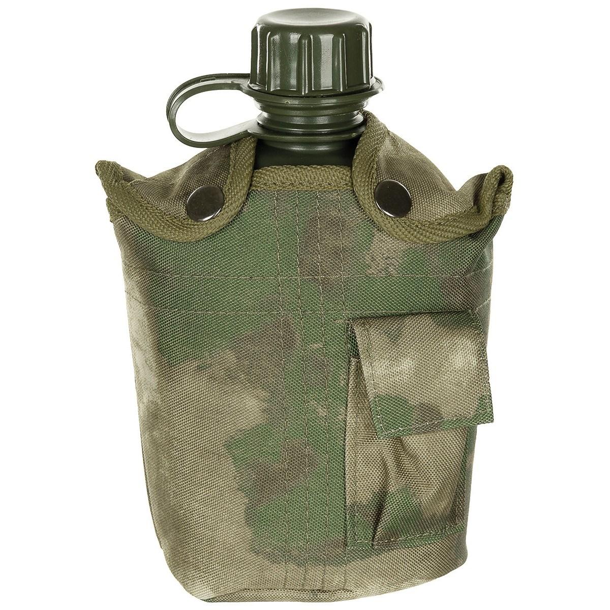 Láhev polní US nylonový potah 1L HDT-camo FG - zvìtšit obrázek