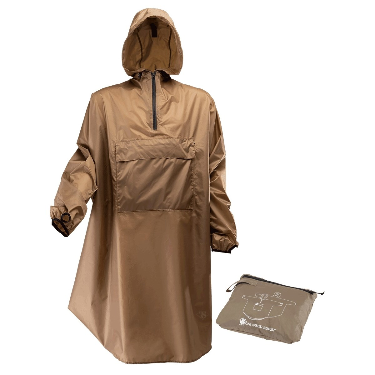 Pláštìnka SENTINEL s kapsou TAN499 - zvìtšit obrázek