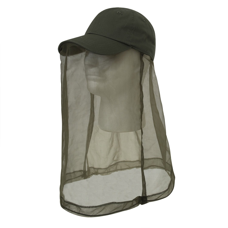 Èepice BASEBALL OPERATOR s moskytiérou ZELENÁ - zvìtšit obrázek