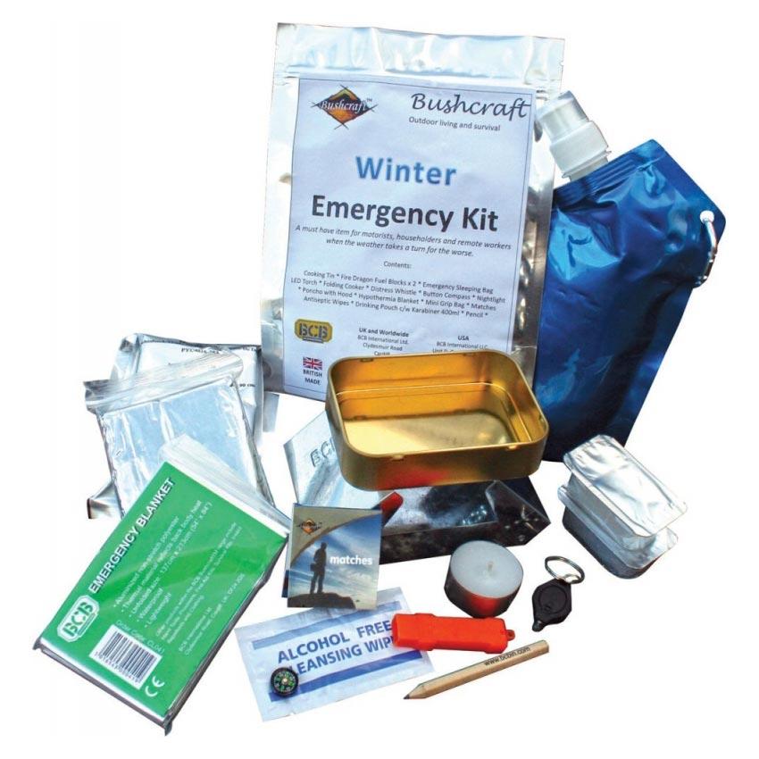 Balíèek pro pøežití zimní sada - Winter Emergency Kit BCB - zvìtšit obrázek
