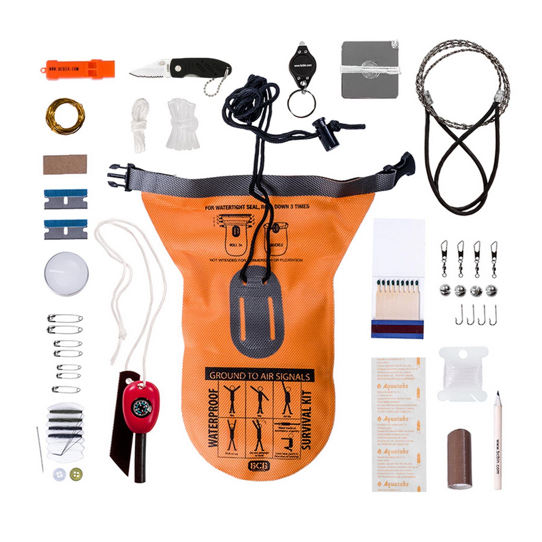 Balíèek pro pøežití vodotìsný kit survival BCB - zvìtšit obrázek