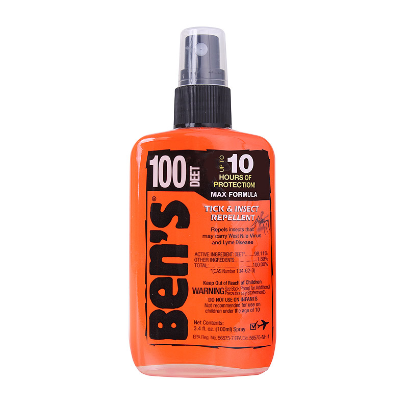 Repelent proti hmyzu BENS 100 DEET 100 ml - zvìtšit obrázek