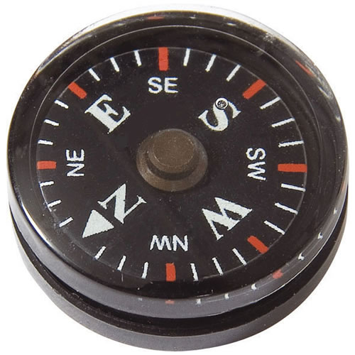 Kompas BUTTON malý MIL-COM 2 cm - zvìtšit obrázek