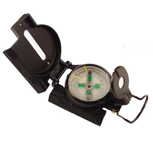 Kompas TACTICAL MARCHING kovové tìlo ÈERNÝ - zvìtšit obrázek