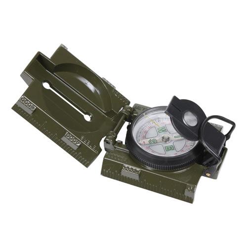 Kompas US kovové tìlo a LED osvìtlení ZELENÝ - zvìtšit obrázek