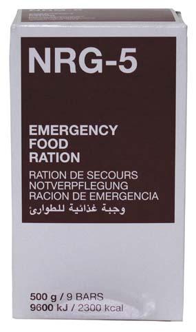 Nouzová dávka potravy NRG-5 500 g - zvìtšit obrázek