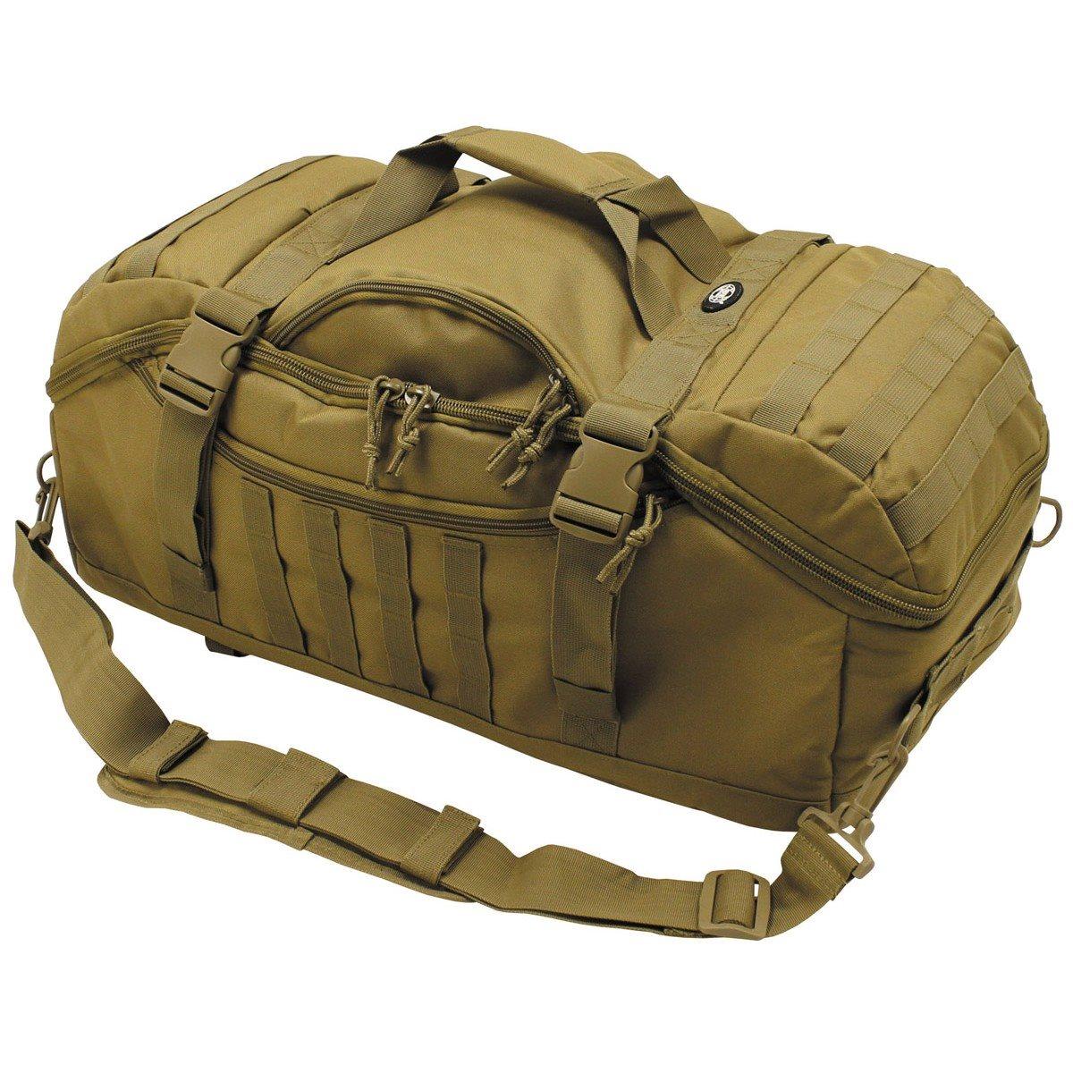 Taška kombinovaná s batohem TRAVEL MOLLE COYOTE - zvìtšit obrázek