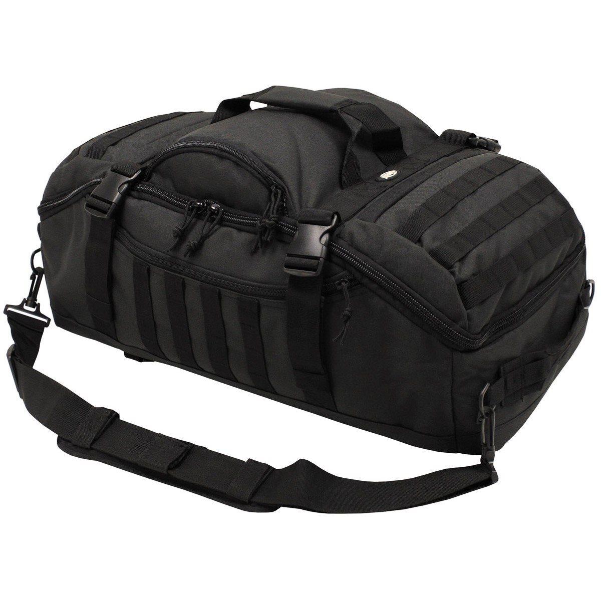 Taška kombinovaná s batohem TRAVEL MOLLE ÈERNÁ - zvìtšit obrázek