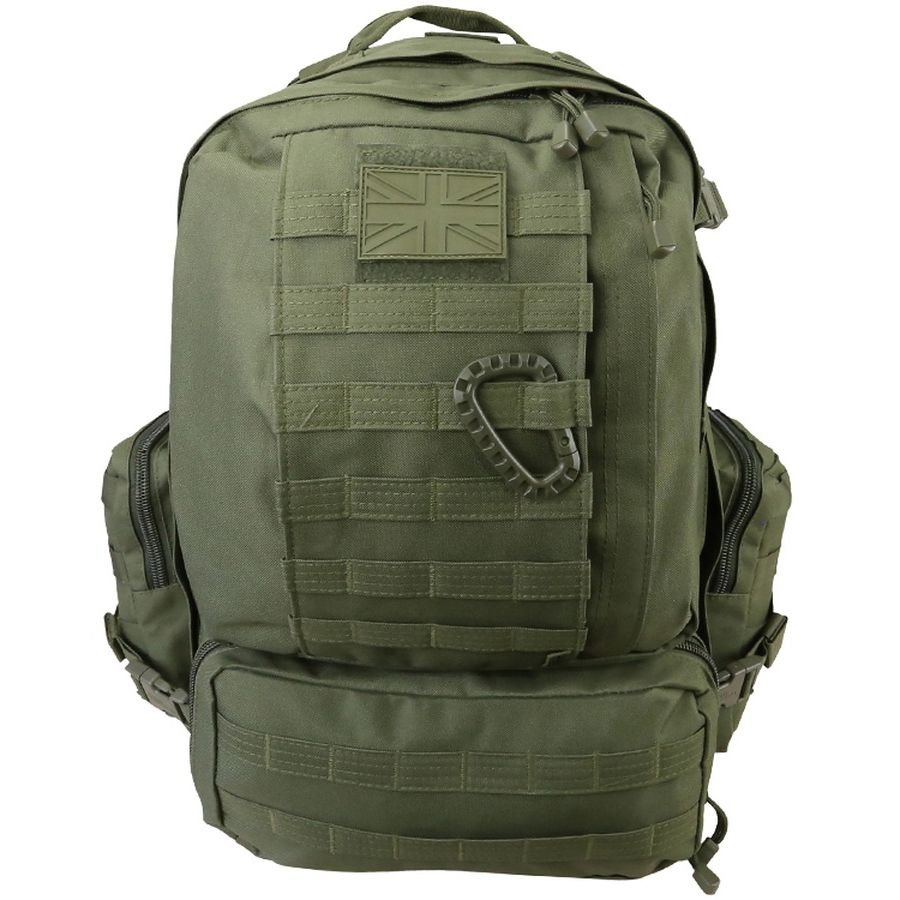 Batoh VIKING Patrol Pack MOLLE 60 litrù ZELENÝ - zvìtšit obrázek