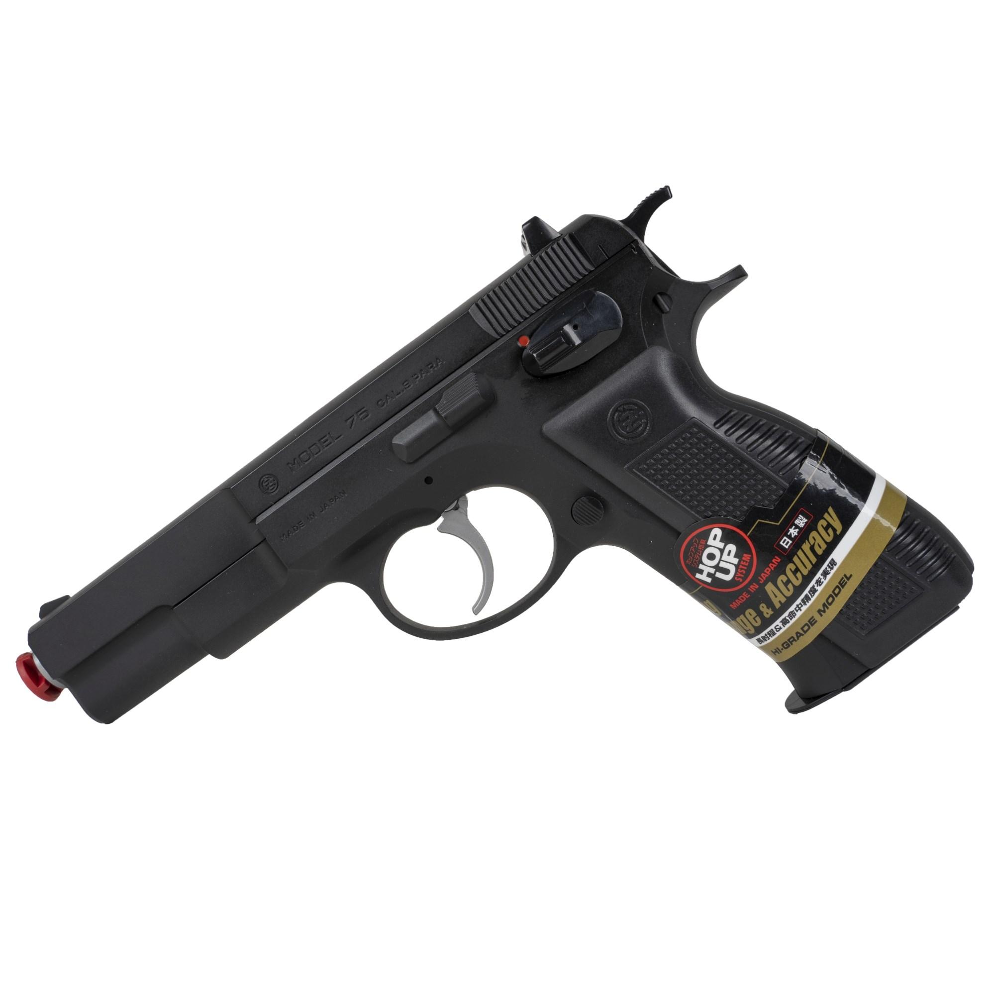 Pistole airsoft manuální CZ 75 ÈERNÁ - zvìtšit obrázek