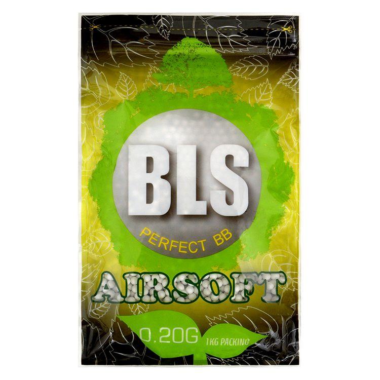Kulièky airsoft BLS BIO 0.20g 5000ks - zvìtšit obrázek