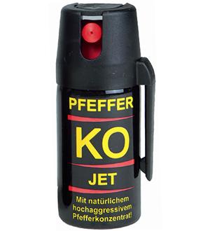 MIL-TEC Sprej obranný pepřevý KO JET 40ml