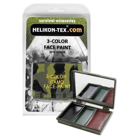 Barvy maskovací KRABIÈKA 3 barvy se zrcátkem - zvìtšit obrázek