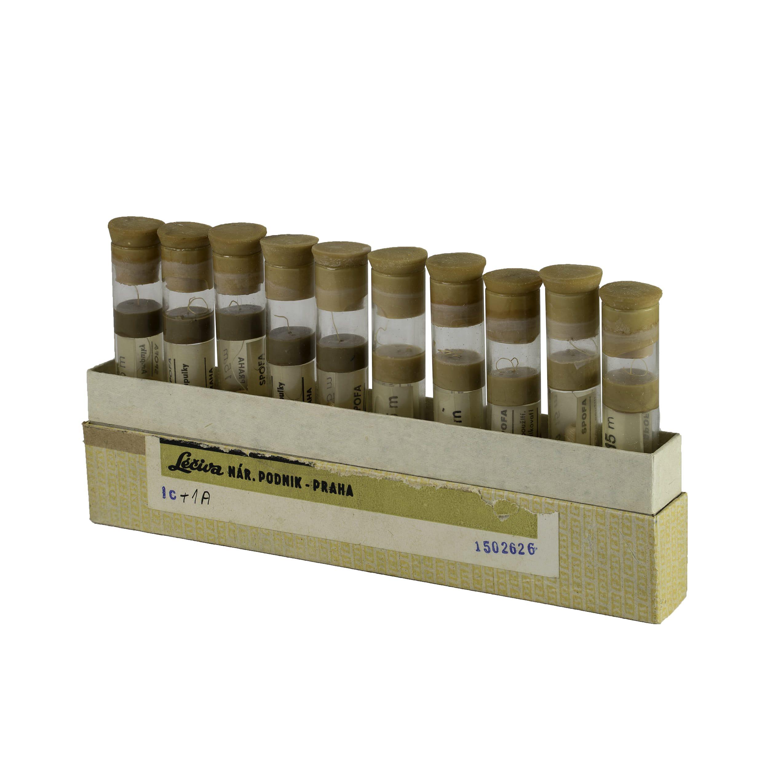 Hedvábí sterilní skané vlákno v konzervaèním roztoku 10 rourek - zvìtšit obrázek