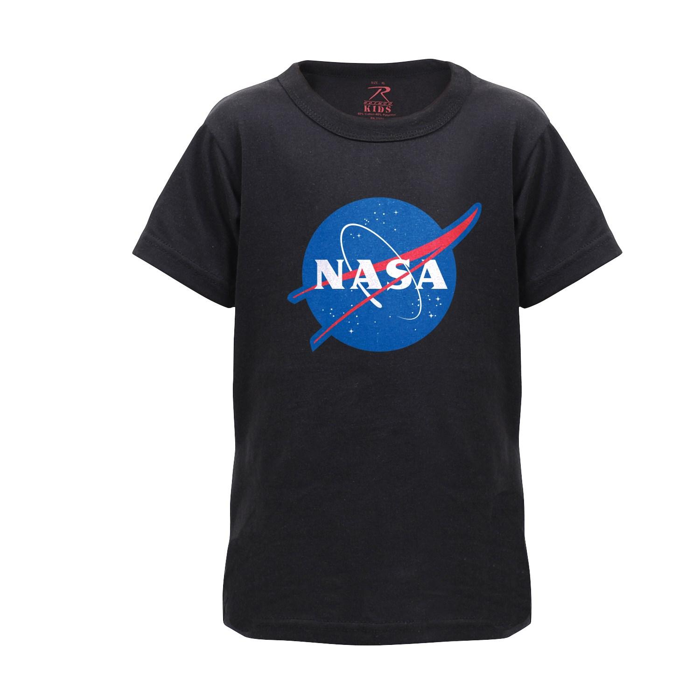 Triko dìtské se znakem NASA ÈERNÉ - zvìtšit obrázek