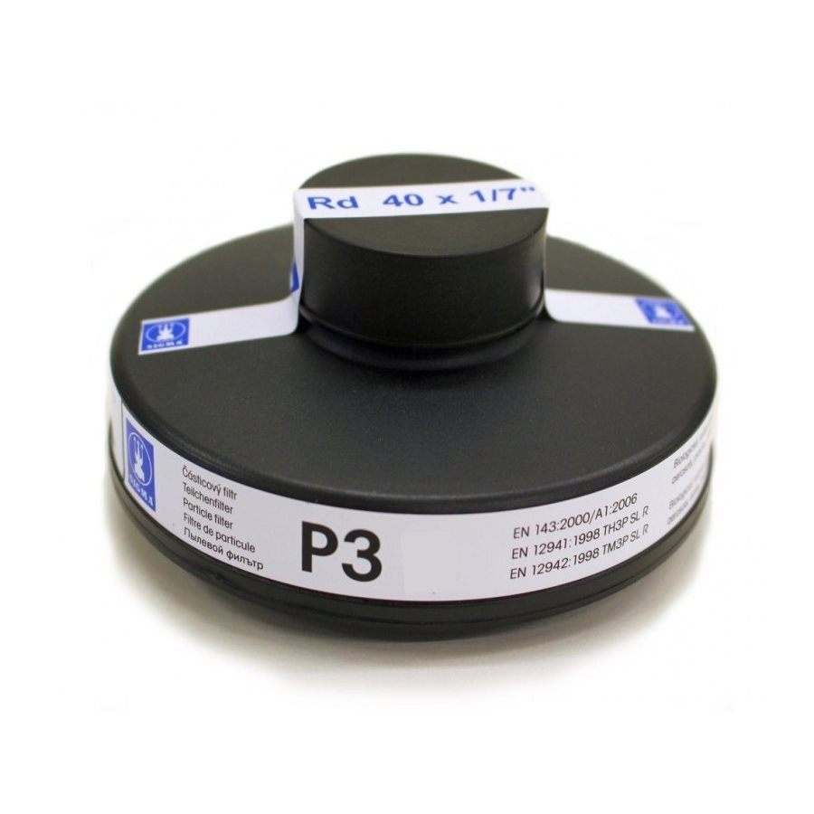 Filtr èásticový pro plynové masky SIGMA P3 EN143 závit 40x1/7 - zvìtšit obrázek