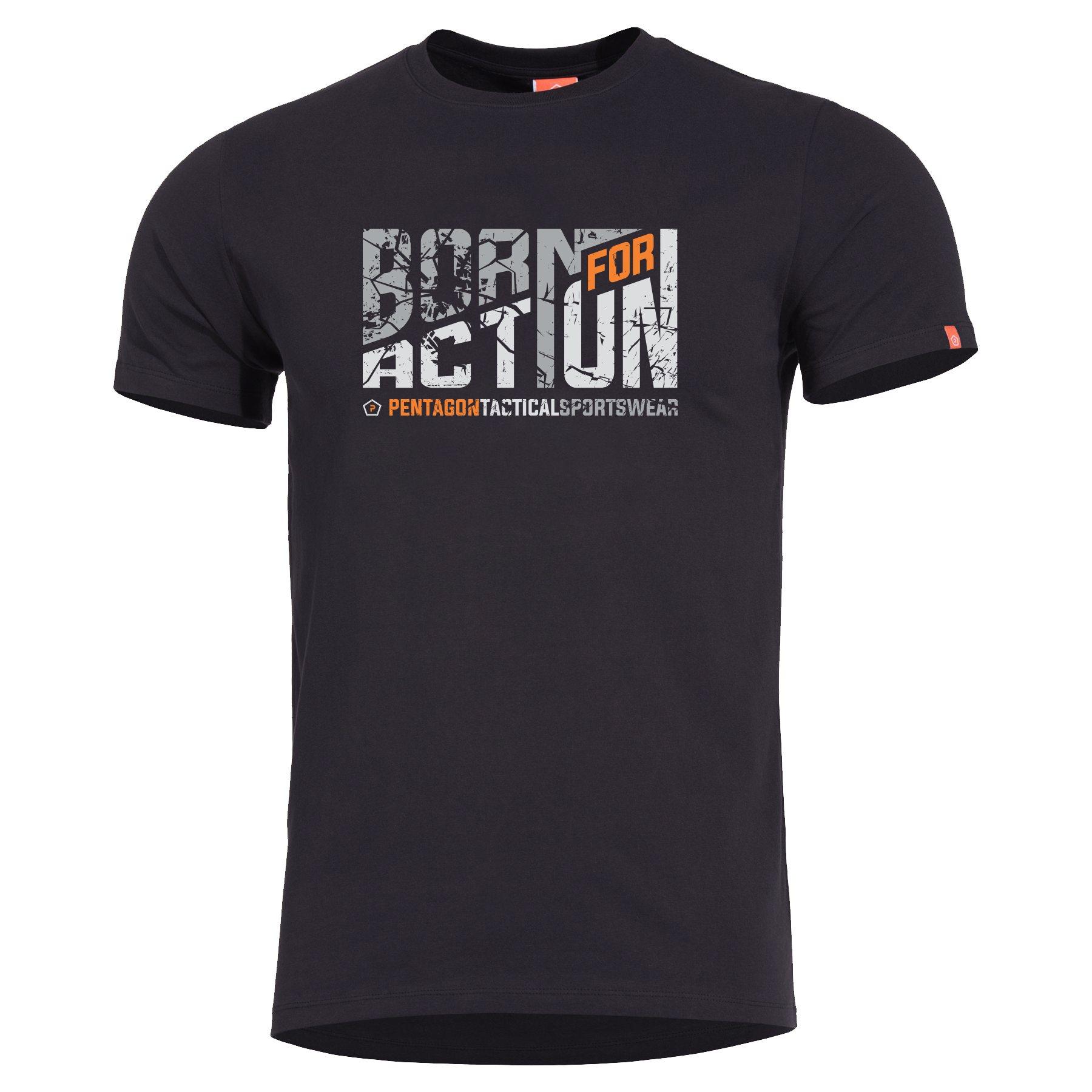 Triko BORN FOR ACTION ÈERNÉ - zvìtšit obrázek