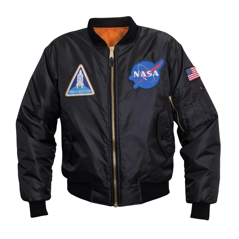 Bunda MA1 FLIGHT NASA ÈERNÁ - zvìtšit obrázek