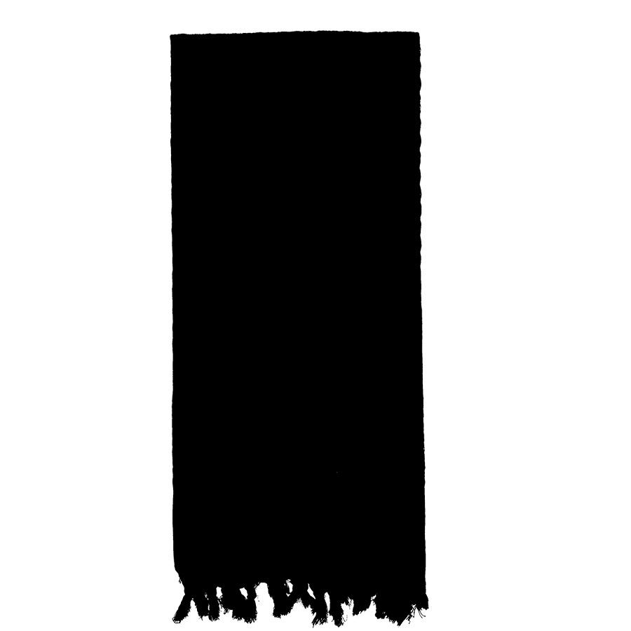 Šátek SHEMAGH odlehèený ÈERNÝ 105 x 105 cm - zvìtšit obrázek
