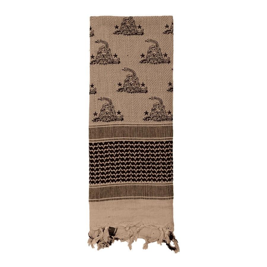 Šátek SHEMAGH 107 x 107 cm GADSDEN SNAKE TAN - zvìtšit obrázek